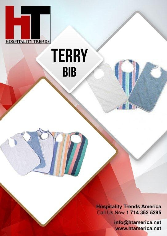 Terry Bibs of different colors